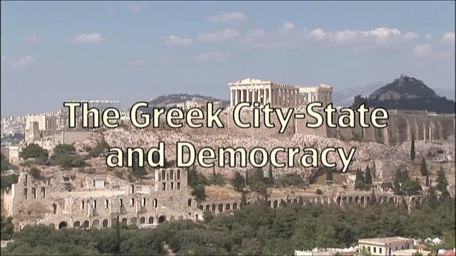 Ancient History The Greek City-State and Democracy