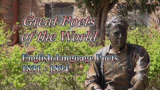 English-language Poets: 1831 – 1894