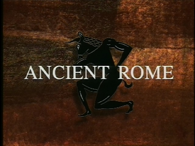 Volume 4: ANCIENT ROME