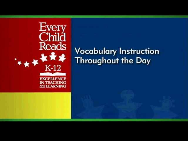 Vocabulary Structural Analysis