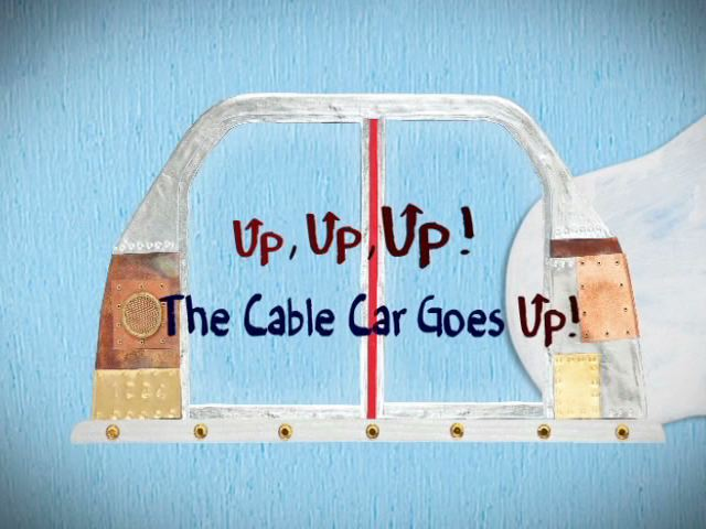 Up, Up, Up! The Cable Car Goes Up!: Counting