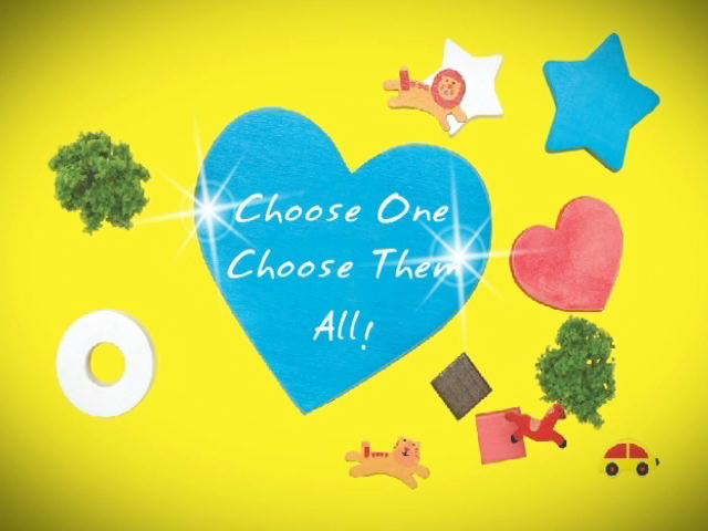 Choose One, Choose Them All: Identifying Shapes & Colors
