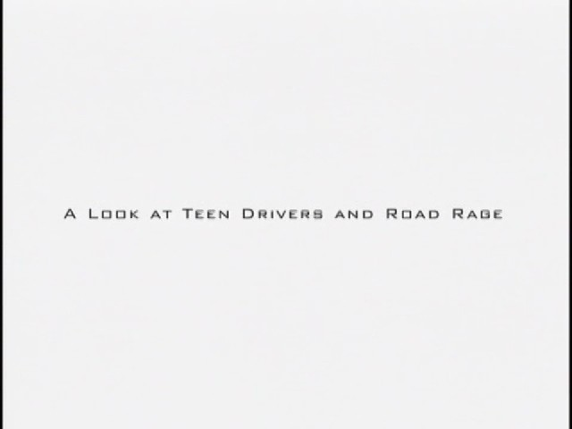 Rage Behind the Wheel: A Look at Teen Drivers and Road Rage