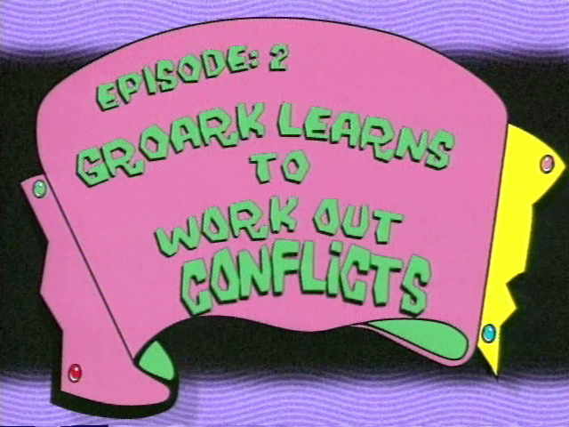 Groark Learns to Work Out Conflicts